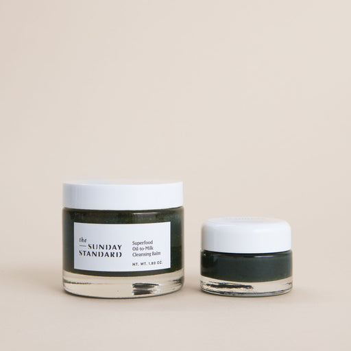 Travel Size Superfood Oil-to-Milk Cleansing Balm