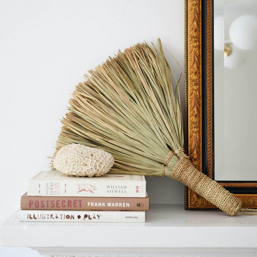 Handcrafted Palm Broom