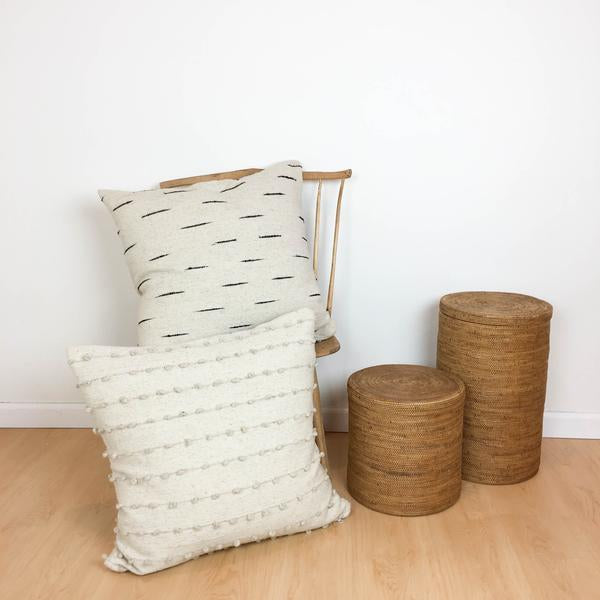 Loops Pillow in Cream