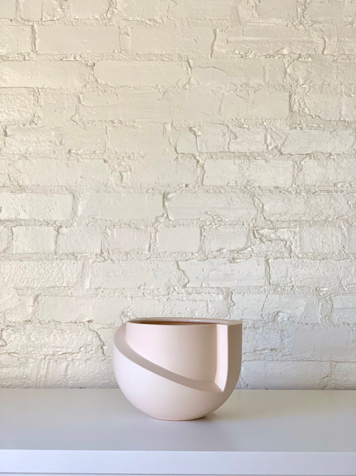Vayu Planter in Blush