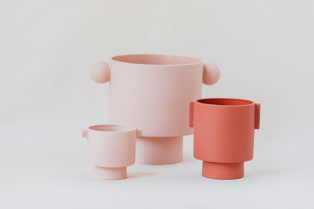 Small Inka Kana Pot in Rose