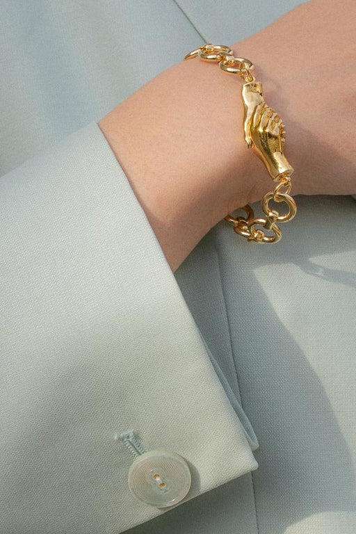 Gentlewoman's Agreement Bracelet in Gold