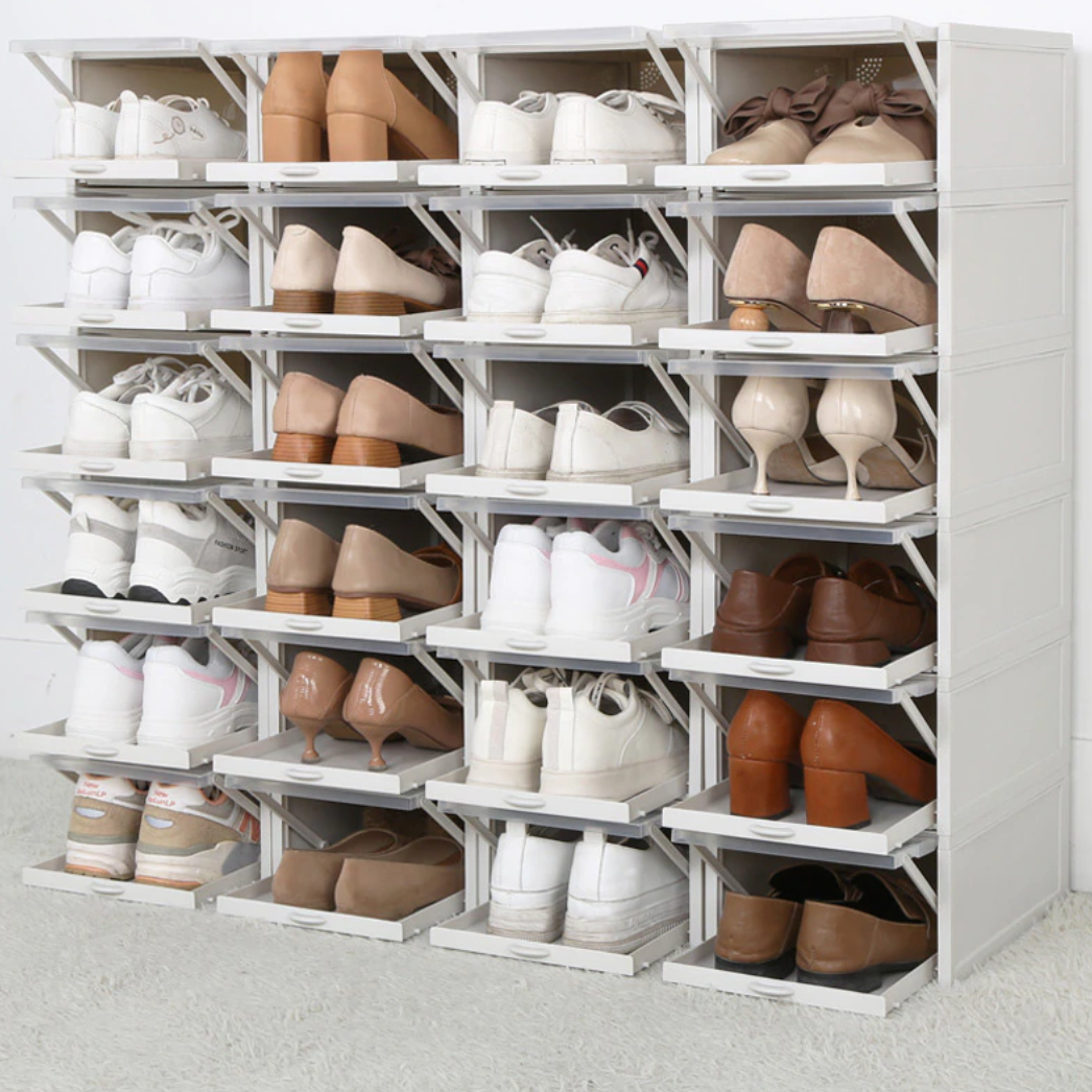 Stackable Drawer Shoe Boxes