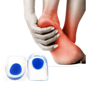 Soft Rubber Gel Pain Heel Spur