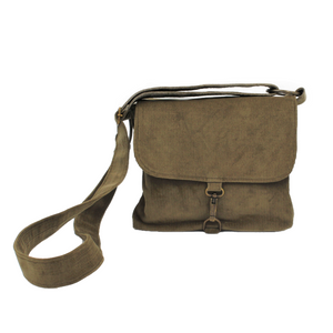 Brown Crossbody Bag - Corduroy Shoulder Bag