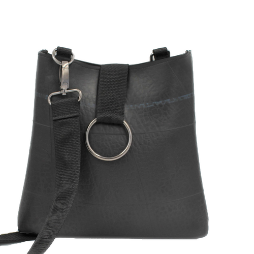 recycled rubber lupin bag