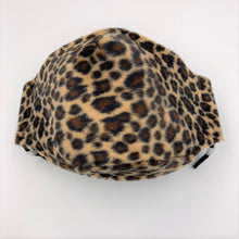 Load image into Gallery viewer, facemask in sand leopard print
