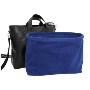 royal blue handbag liner