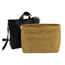 Load image into Gallery viewer, gold/mustard handbag liner
