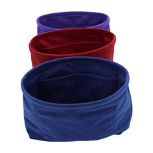 Load image into Gallery viewer, Royal_blue_front_red_pepper_purple_bag_liners