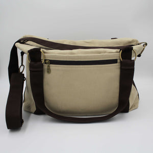 Thyme Travel & Flight Messenger Bag Back View