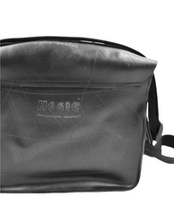 Load image into Gallery viewer, Black Recycled Inner Tube - Eco-Friendly Cartridge Bag