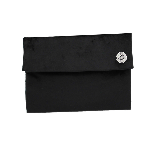 Black Clutch Bag - Clutch Purse for Evening, Party or Occasion