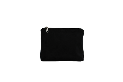 Black Luxury Velvet Effect Cosmetic Purse/Bag Tidy