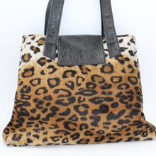 Load image into Gallery viewer, Leopard Print Shoulder Bag - Small Rose Weekend Bag