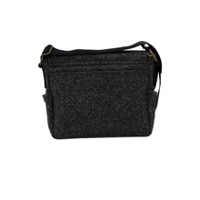 Load image into Gallery viewer, Grey Crossbody Bag - Grey Speckled Wool