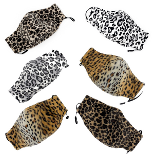 nushi faux fur facemask collection