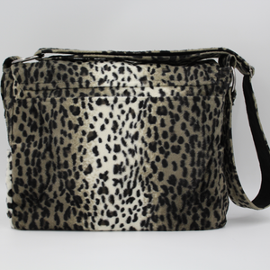 Animal Print Satchel Bag - Large Messenger Bag