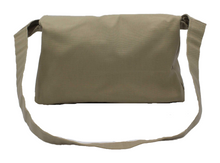 Load image into Gallery viewer, Canvas Messenger Bag - Waxed Cotton Crossbody Bag