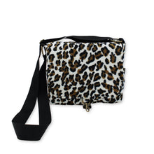 Load image into Gallery viewer, Leopard print crossbody bag