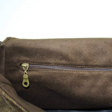 Load image into Gallery viewer, chestnut_brown_jessamine_british_tweed_bag_inside