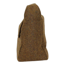 Load image into Gallery viewer, chestnut_brown_jessamine_british_tweed_bag