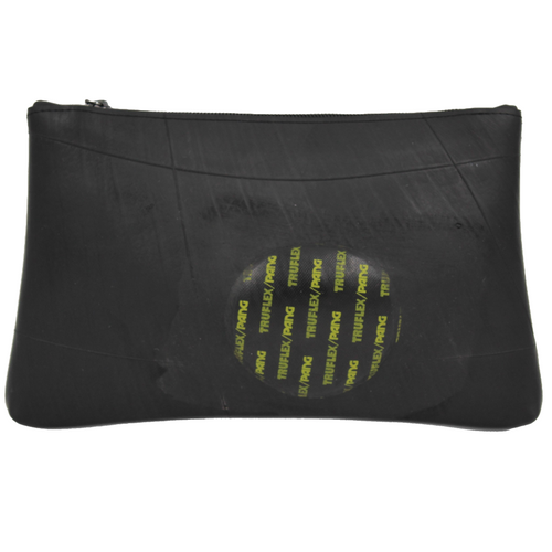 Black Pencil Case - Eco-Friendly Recycled Inner Tube