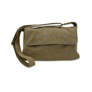 Tweed crossbody bag - British tweed messenger bag