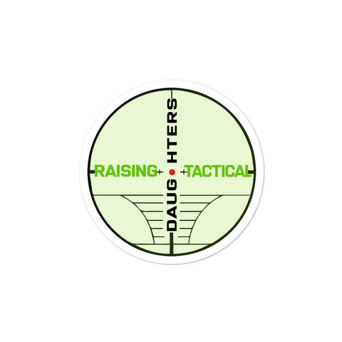Raising Tactical Daughters 3x3 RTD Scope Sticker
