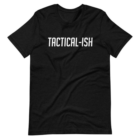 Raising Tactical Daughters Black Heather / XS Tactical-Ish White T-Shirt
