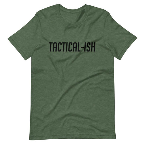 Raising Tactical Daughters Forrest Heather (B) / XS Tactical-Ish T-Shirt