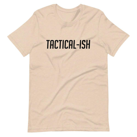 Raising Tactical Daughters Heather Dust / XS Tactical-Ish T-Shirt