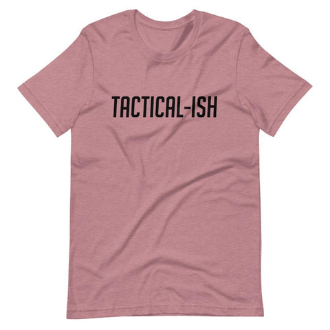 Raising Tactical Daughters Orchid Heather (B) / XS Tactical-Ish T-Shirt