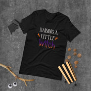 Raising Tactical Daughters Raising a Little Witch T-Shirt