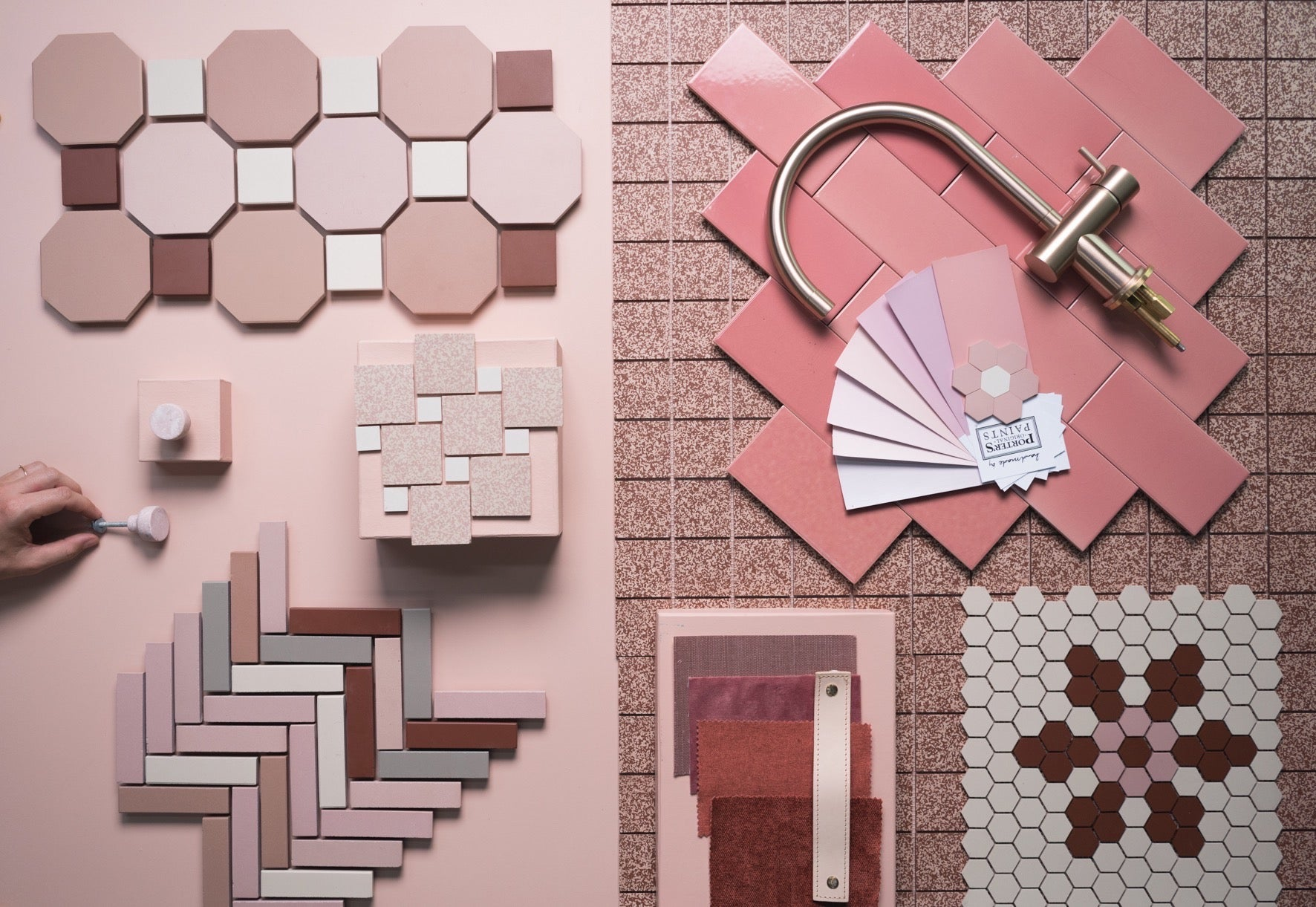 Colour Inspiration Pink Tiles Olde English Tiles