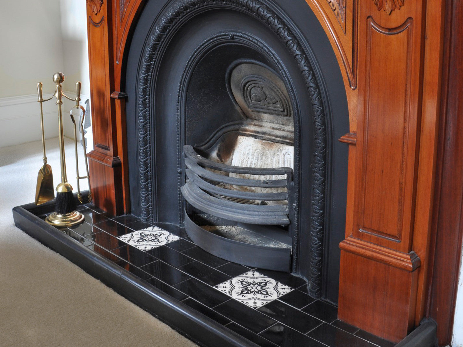 Fireplace And Riser Tiles