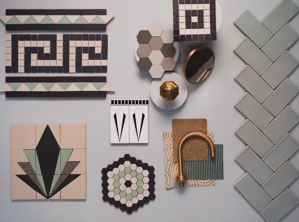 Inspiration - Art Deco Style by Olde English Tiles