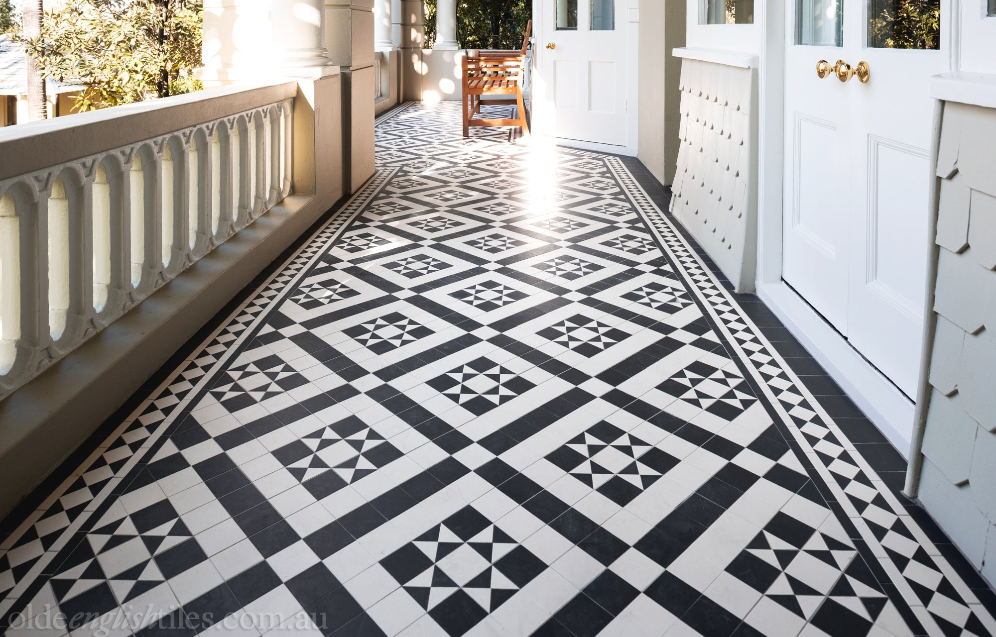 Monochrome Tile Patterns Olde English Tiles Sydney Melbourne