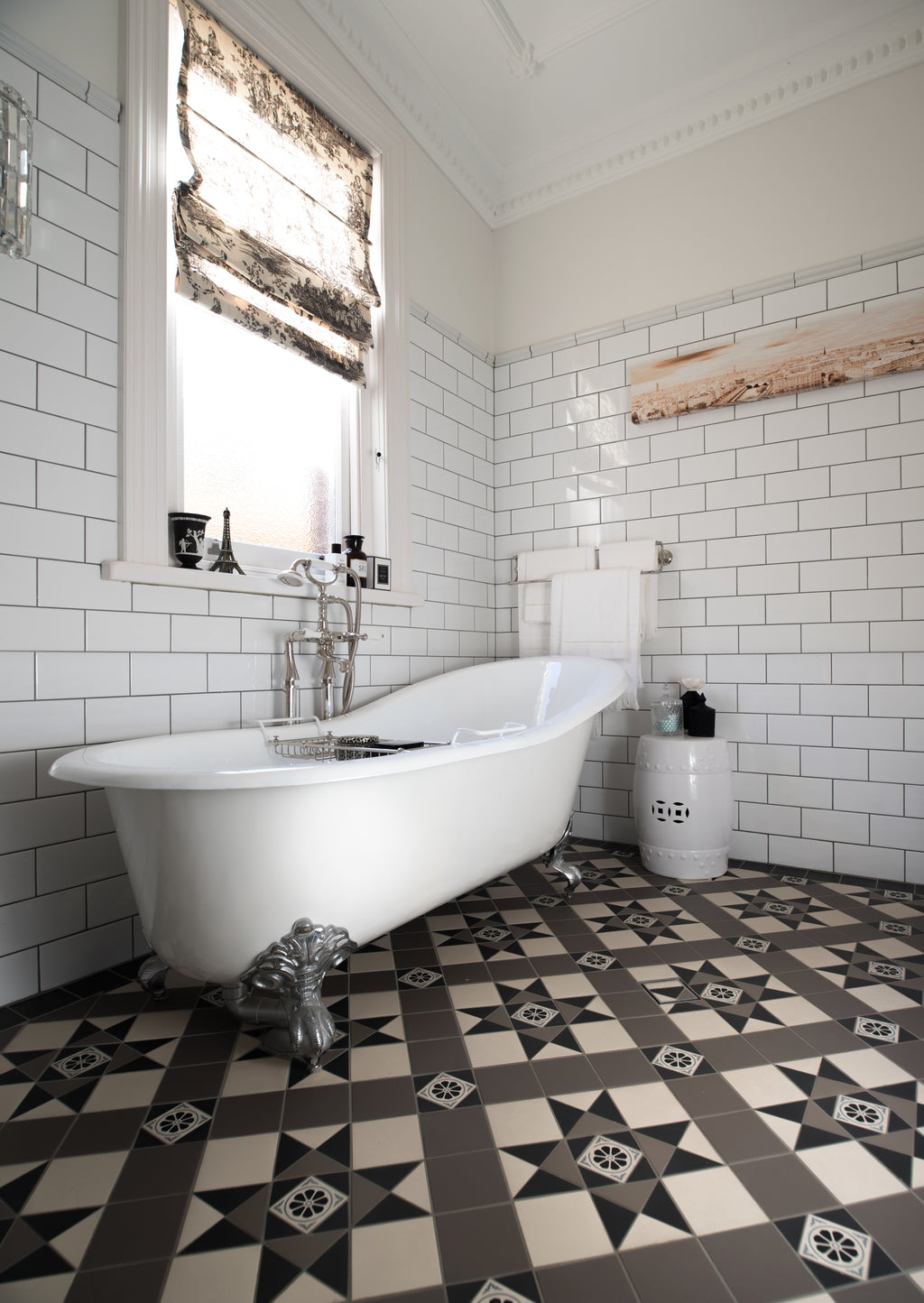Bathroom Heritage Tessellated Tiles