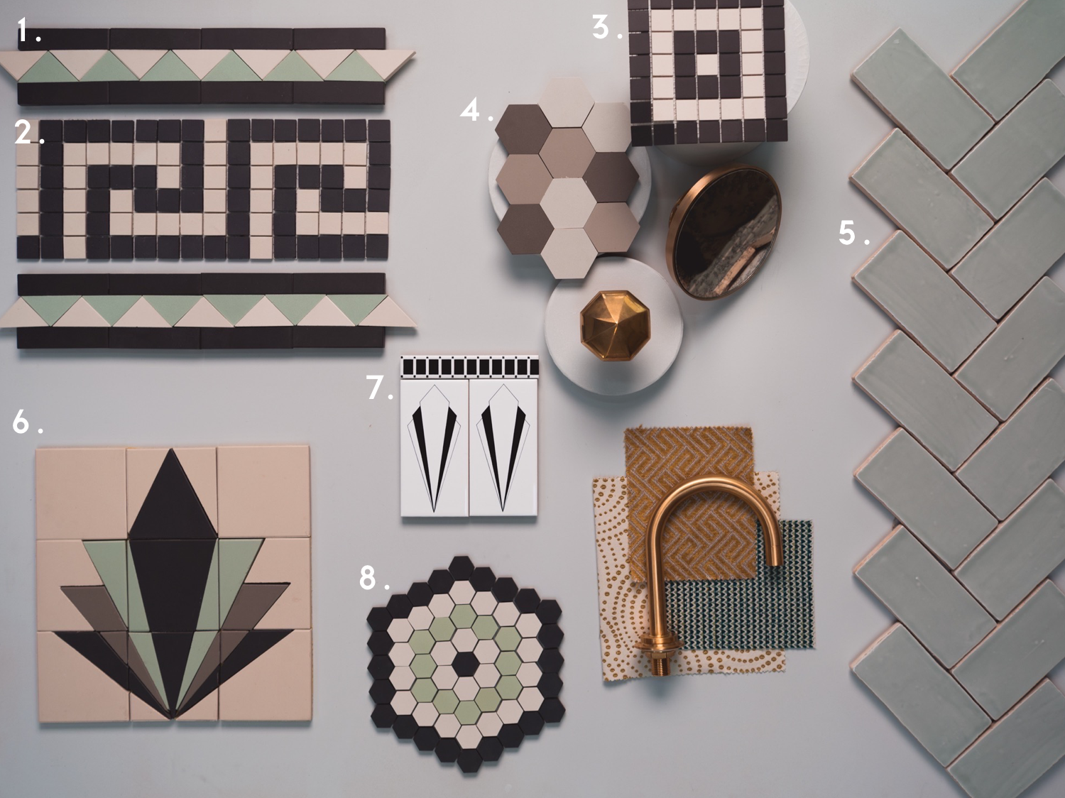 Art deco tiles header image