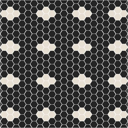 Metropolis small hexagon tiles