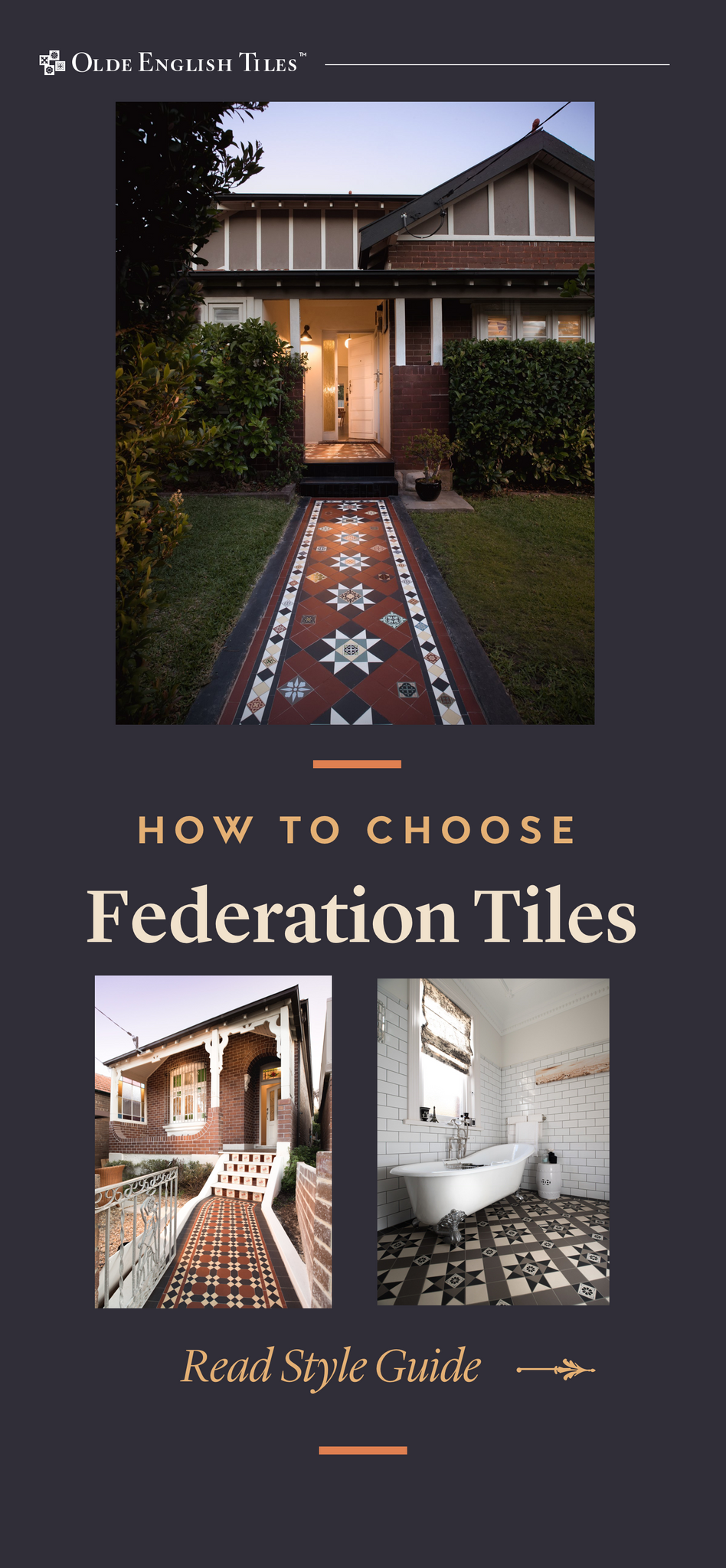 How to choose tiles for a federation home