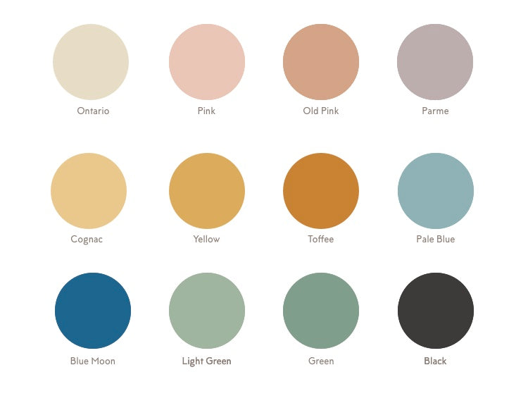 Victorian colour palette