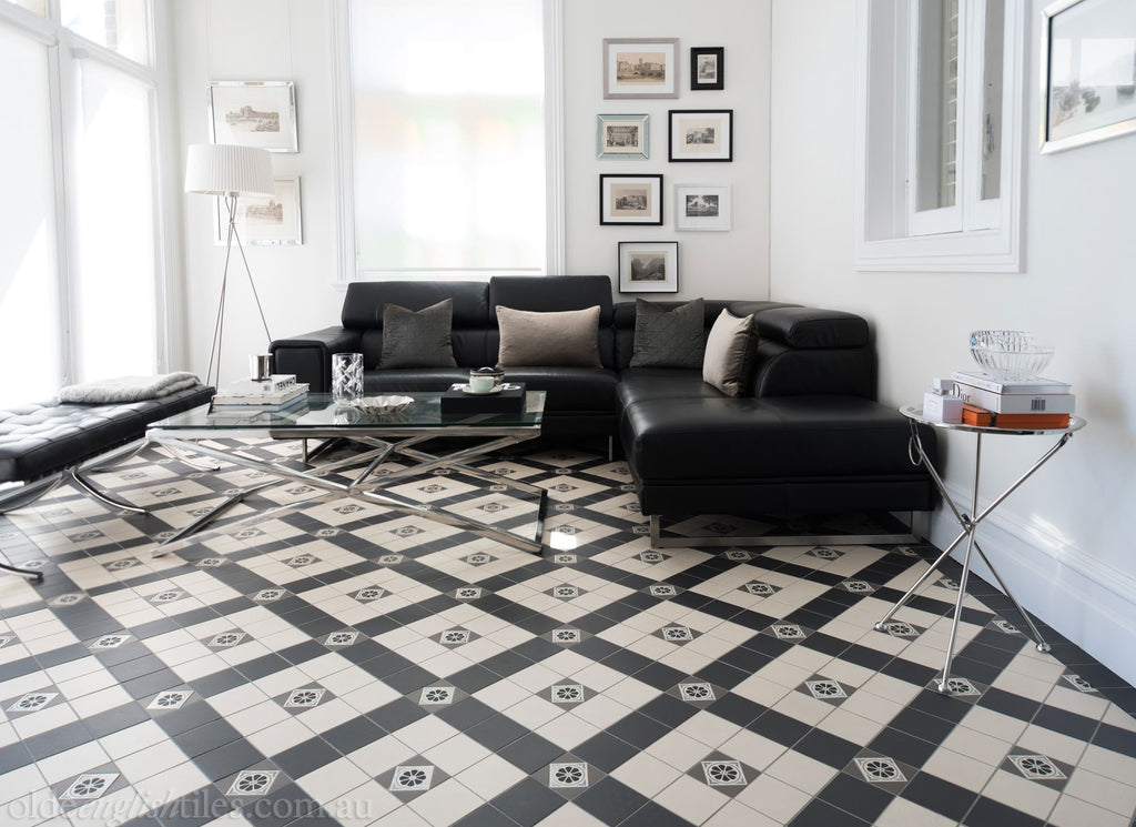 Living Heritage Tessellated Tiles by Olde English Tiles