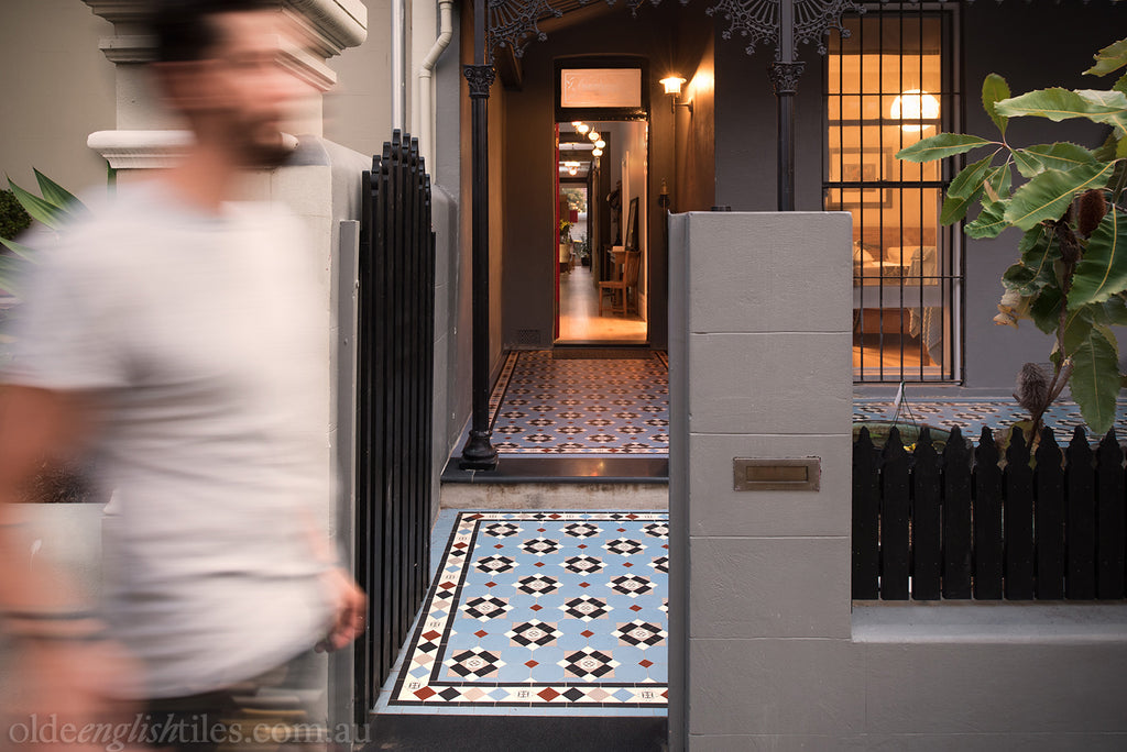 Verandah Heritage Tessellated Tiles by Olde English Tiles