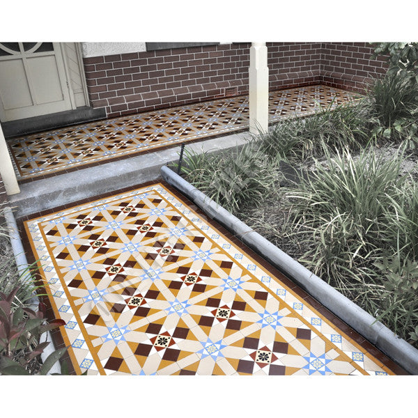 Tessellated Tiles Pool and Garden 10