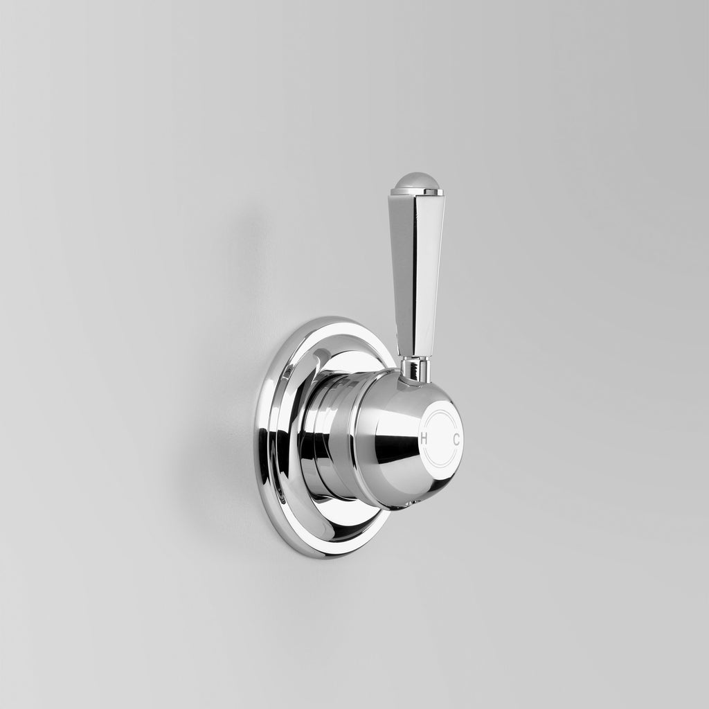 - Classic Wall Mixer (With Classic Metal lever)