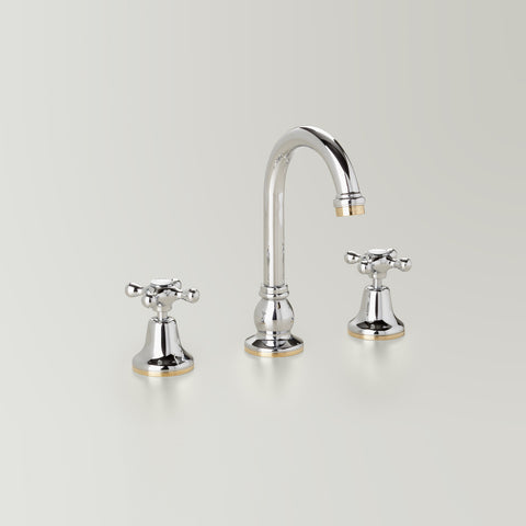 Classic Hampton Basin Set 110mm swivel spout
