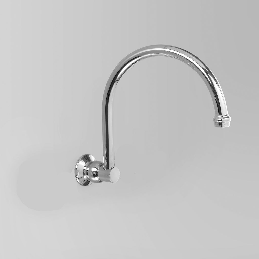 Olde English -  Classic Olde English Wall swivel spout Only 260mm (flow control option)