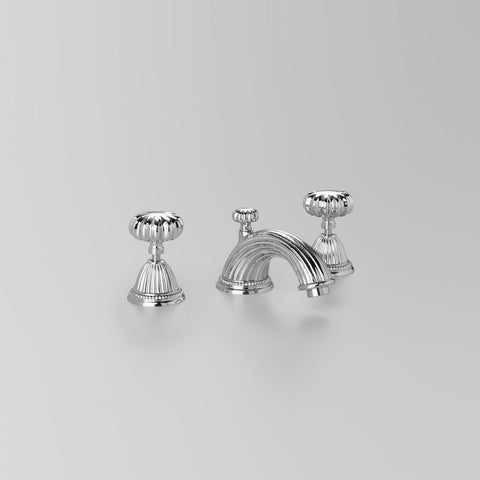 Classic Swan Basin Set V2 120mm fixed spout